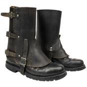Original Swiss Leather Gaiters
