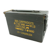 US Military 7.62mm Ammo Can Box
