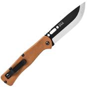 TOPS Fieldcraft Canvas Micarta Handle Folding Blade Knife