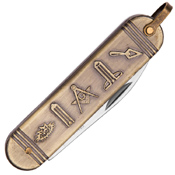 United Cutlery Gold Masonic Folding Knife