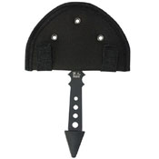 United Cutlery Black Ronin Gothic Throwing Axe with Sheath