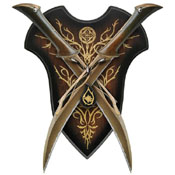 United Cutlery Tauriel Fighting 2 Knife Set - Wholesale