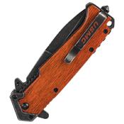 USMC Beachhead Partially Serrated Folding Blade Knife - Wholesale