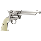 Colt Peacemaker Nickel Pistol