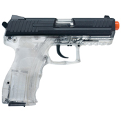 Heckler and Koch Clear P30 Spring w Metal Slide Airsoft Gun