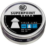RWS Superpoint Extra 0.22 Caliber Airgun Ammunition