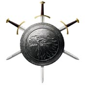 Valyrian Steel Stark Infantry Shield VS0101