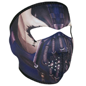 Zan Headgear Pain Design Neoprene Face Mask - Wholesale