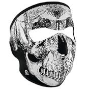 Neoprene Reflective Skull Full Face Mask - Wholesale
