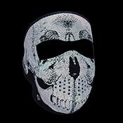 Full Mask Neoprene Reflective Skull