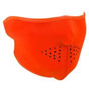 Neoprene White Reversible to High-Vis Orange Face Mask - Wholesale