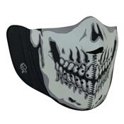 Zan Headgear Skull Nylon Balaclava w/ Removable Half Mask