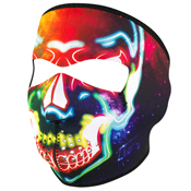 Zan Headgear Neoprene Electric Skull Face Mask
