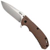 Zero Tolerance Hinderer Dark Earth Scale 3.75 Inches Folding Knife - Wholesale